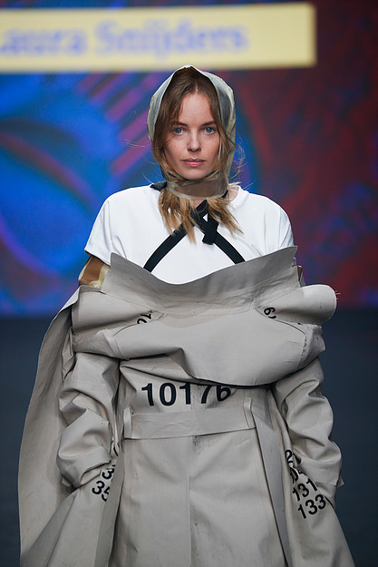 Lidl Amsterdam Fashion Week 2018 model: Dorith Mous Photo: Team Peter Stigter