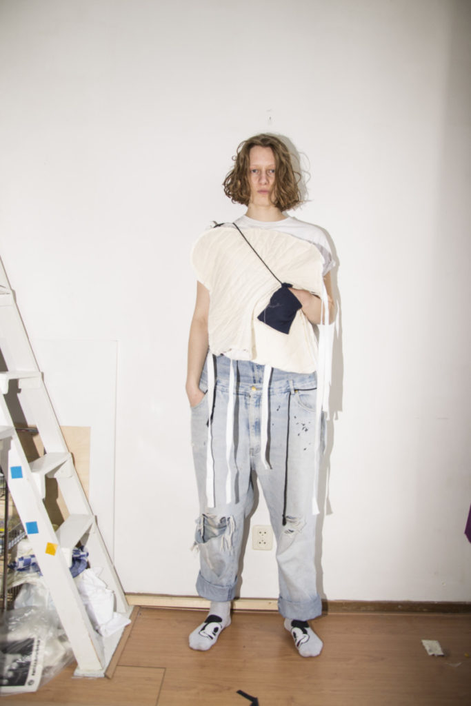 shape experiments fourth year sketch drape moulage