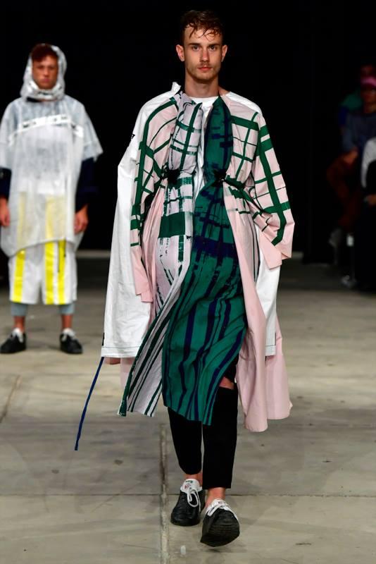 final look catwalk KABK model: Constantijn Scholten