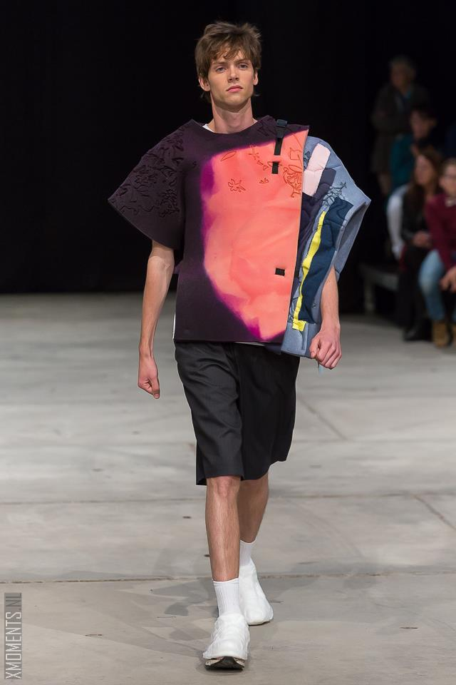 look 3 collection second year KABK